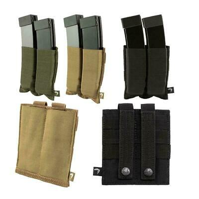 Viper Elastic Double SMG Magazine Plate Pouch Airsoft Molle Evo Mp5 VMPLSMG