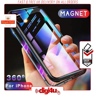 NEW Luxury Slim Shockproof Magnetic Adsorption Case Cover for Apple iPhone 7 8 X