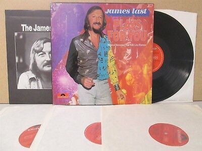 JAMES LAST- Plays for You 4-LP Polydor BOX SET The Best of Romantic/Latin etc