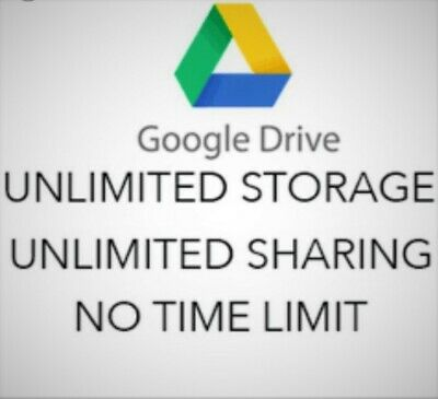 GG Drive Unlimited added to your Google Account