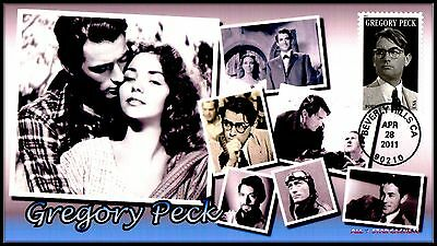 4526 Gregory Peck... 2011 Legend of Hollywood... FDC #P68