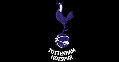 Machine Embroidery Design - Tottenham Hotspur Logo Football - Multi Formats