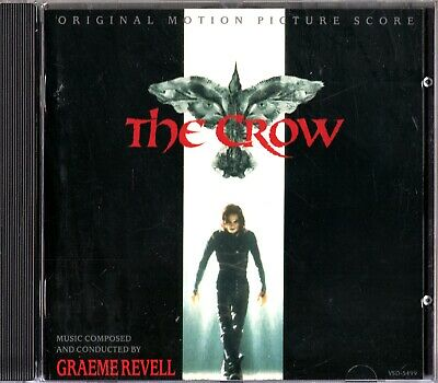 The Crow - Graeme Revell Soundtrack/Score CD (1994) 'Birth Of The Legend'