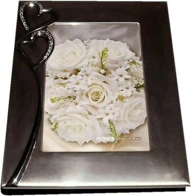 Wedding Bridal Photo Album - Stainless Steel Cover