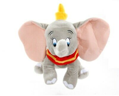 """New Official Disney 12"""" Grey Dumbo Soft Plush Toy"""