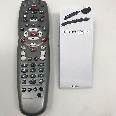 How To Program Xfinity Remote To Tv