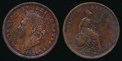 1826 George IV - Copper PENNY.......Fast Post