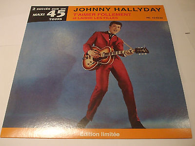 25 cm  hors commerce Johnny Hallyday