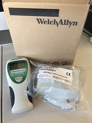 WELCH ALLYN SURETEMP SURE TEMP 690 PLUS THERMOMETER And Wall Holder New