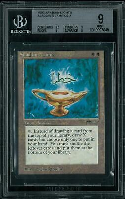 Magic MTG Arabian Nights Aladdin's Lamp BGS 9 (8.5, 9, 9, 9)