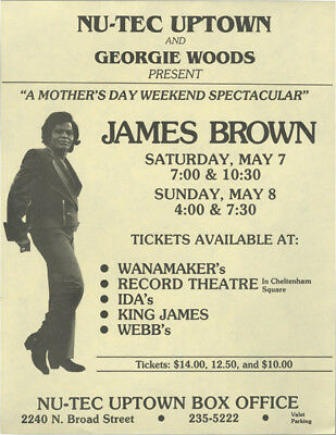 Mother's Day Weekend Spectacular James Brown Saturday May 7Th And #131152