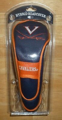 NCAA Virginia Cavaliers Hybrid Golf Headcover Stretch Fit & secures to the shaft