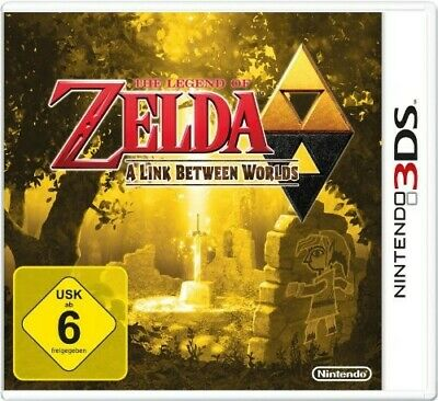Nintendo 3DS game The Legend of Zelda: A Link Between Worlds boxed