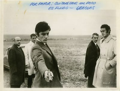 Jean Herman JEFF LOS TRAIDORES Original photograph from the 1969 film #135622