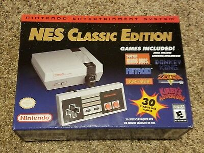 Nintendo NES Classic Edition Mini Console System; NEW! Ships Daily!