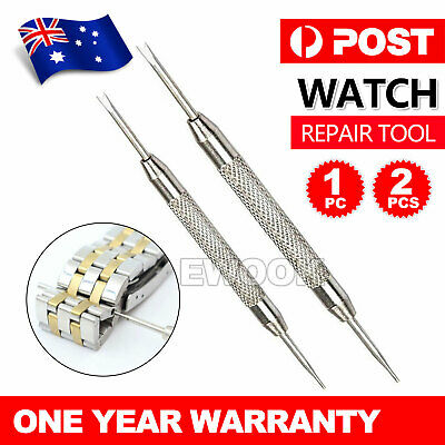 WATCHMAKERS SPRING BAR PIN REMOVER TOOL Link Wrist Watch Band Strap Repair
