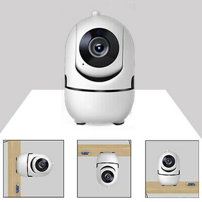 720/1080P Indoor Home Security Night Vision Pan Tilt Wireless WiFi IP Camera ABS