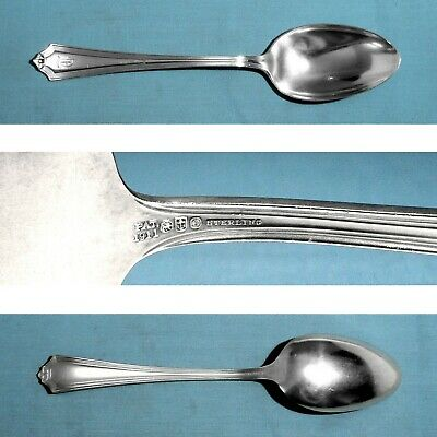 """NO MONO 7-1//8/"""" Gorham Versailles Sterling Silver Oval Soup Spoon"""
