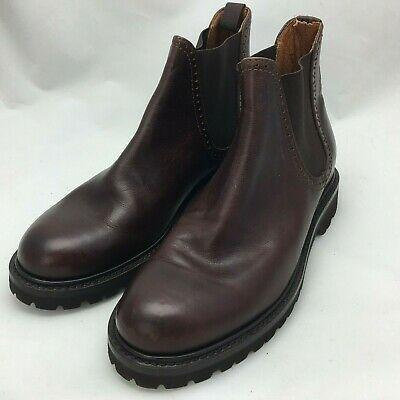 16923989793 WOLVERINE MEN'S CROMWELL Chelsea Leather Boot Brown W40420 Size 8.5D