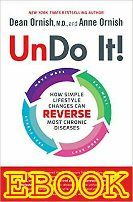 Undo It! How Simple Lifestyle Changes Hardcover by Dean Ornish M.D. Dementia