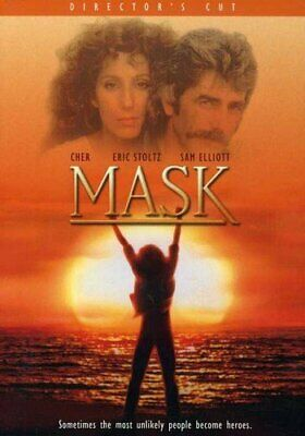 Mask Special Edition, Director's Cut Cher Eric Stoltz DVD Drama FREE SHIPPING