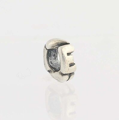 """Authentic Trollbeads Sterling Silver Letter /""""X/"""" Charm 11144x New"""