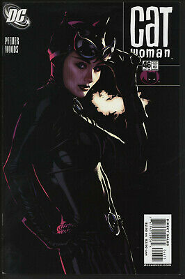 Catwoman 46. Eye-Catching Adam Hughes Cover