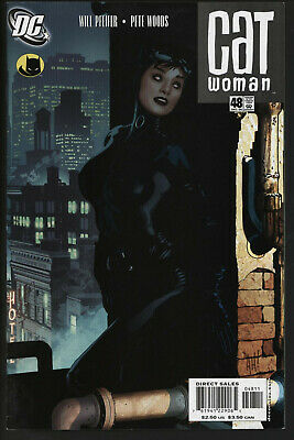 Catwoman 48. Eye-Catching Adam Hughes Cover