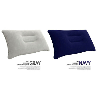 Waterproof Car Air Cushion Seat Inflatable Pillow Double Sided Flocking Cushion