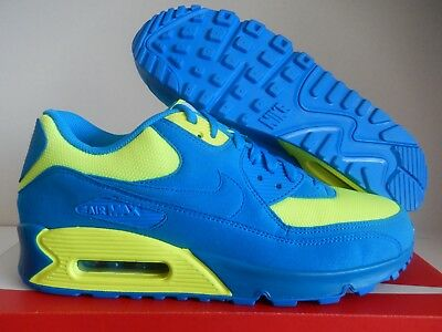 outlet store c8bba 43361 Nike Air Max 90 Id Smurf Blue-Volt