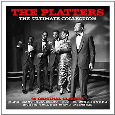 The Platters Ultimate Collection 3-CD NEW SEALED Only You/The Great Pretender+