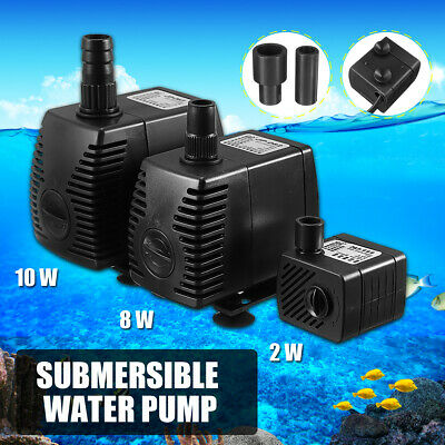 Submersible Water Pump for Aquarium Fish Tank Water Feature Optional 200-600 New