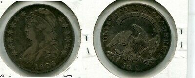 1808 Capped Bust Silver Half Dollar  Type Coin Xf 69M