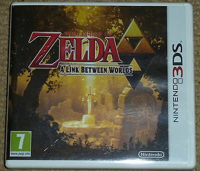 THE LEGEND OF ZELDA A LINK BETWEEN WORLDS NINTENDO 3DS 3 DS XL 2DS Boxed Instruc