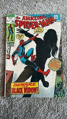 Marvel Comics The Amazing Spider-Man Number 86 - July 1970 - Original