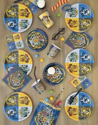 HARRY POTTER Birthday Tableware Range Party Balloons Banners Decorations