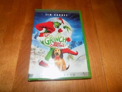 HOW THE GRINCH STOLE CHRISTMAS Jim Carrey Molly Shannon Holiday DVD SEALED NEW