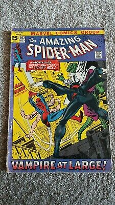 Marvel Comics The Amazing Spider-Man Number 102 -November 1971 - Original