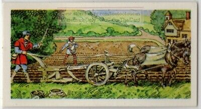 Farm Plow Plough History Invention And Development Vintage Trade Ad Card