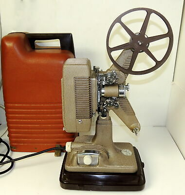 VINTAGE REVERE MODEL 48 16mm Film Movie Projector & Case Works Extremely  Clean