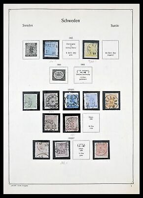 Lot 29756 Collection stamps of Sweden 1855-1972.