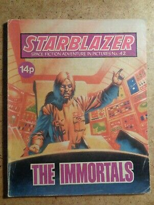 Starblazer Comic No.42: The Immortals. Space Fiction In Pictures 1981