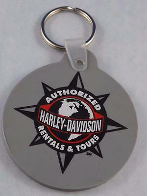 Harley Davidson Motorcycles Authorised Tours Rentals Key Chain Fob Collector