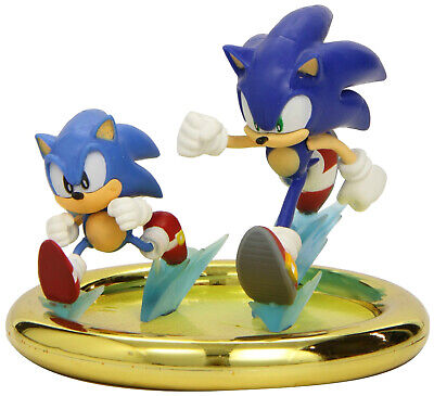"""Sonic The Hedgehog """"Sonic Generations"""" Statue Figure New + Exclusive Game Code"""