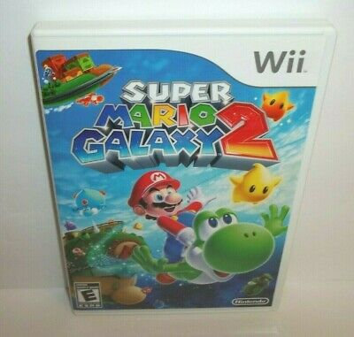 Super Mario Galaxy 2 (Nintendo Wii, 2010) Complete Tested & Working