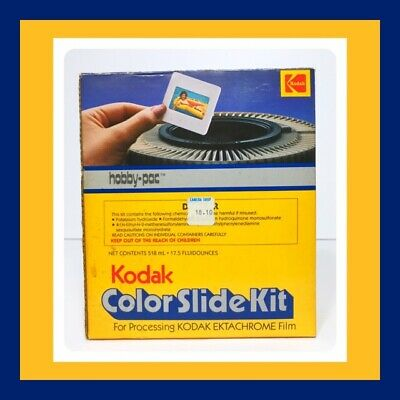 VTG And RARE Kodak Color Slide Kit For Ektachrome Film - Hobby Pac - VERY COOL