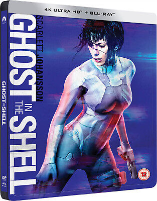 Ghost in the Shell 4K - Exclusive Edition Steelbook (4K UHD+Blu-ray)+ dt. 4K UHD