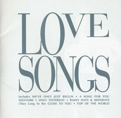 The Carpenters Love Songs CD