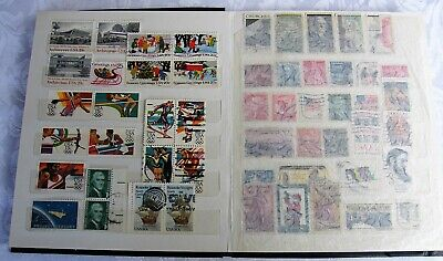 UNITED STATES - Small Album of Used Stamps Good Variety