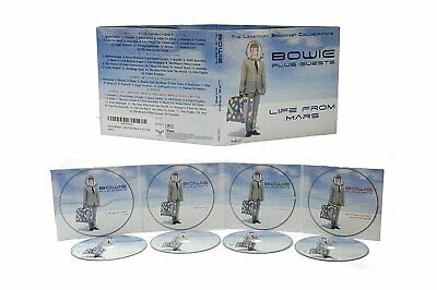 David Bowie 'Life From Mars - Legendary Broadcasts' 4Cd Set- New/Sealed